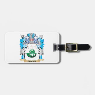 Chaser Coat of Arms - Family Crest Bag Tag