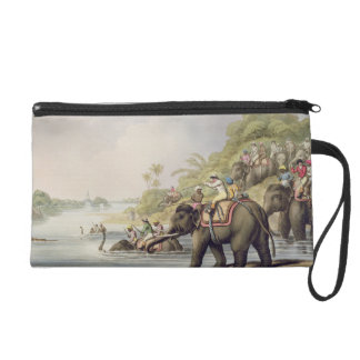 """Chasing a Tiger across a River, from """"Oriental Fie Wristlet Purse"""