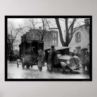 Chasing Bootleggers in Washington, DC 1922 Poster