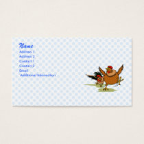 Chasing Chickens Business Card
