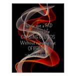 Chasing Clouds Life Quote vape Posters