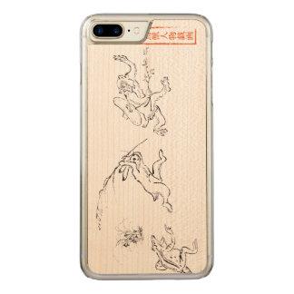 Chasing in the Choju-jinbutsu-giga Carved iPhone 8 Plus/7 Plus Case