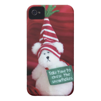 Chasing Snowflakes iPhone 4 Cases