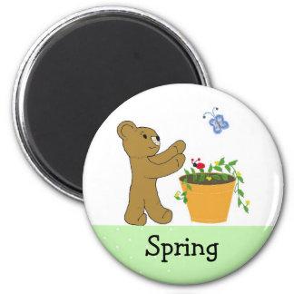 Chasing Spring 2 Inch Round Magnet