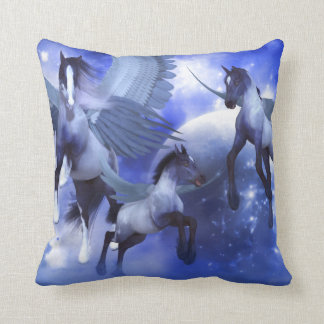 Chasing Stardust Throw Pillow