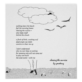 Chasing Sunrise Wall Art,  Poster Paper (Matte)