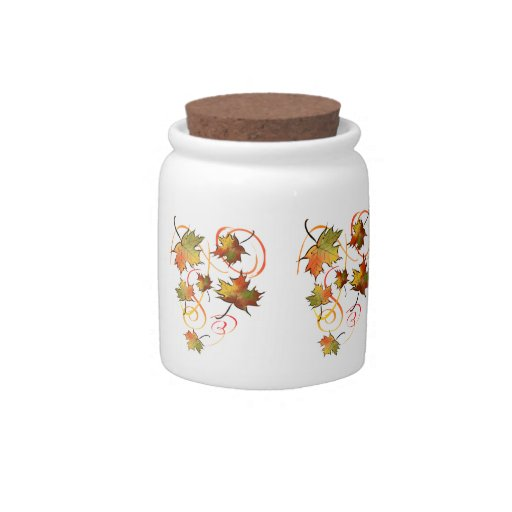 Chasing the Autumn Breeze Candy Jar