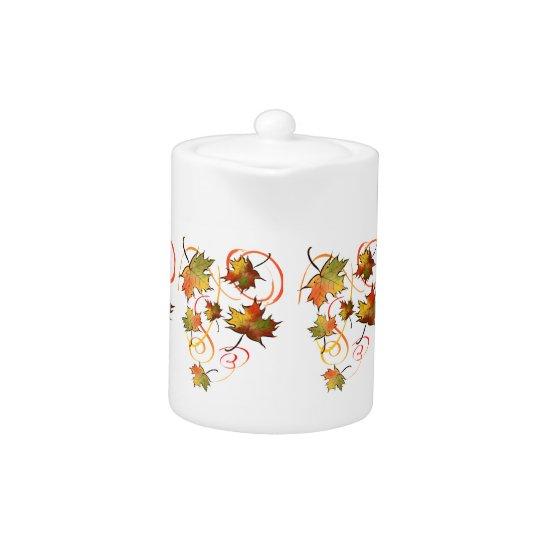 Chasing the Autumn Breeze tea pot