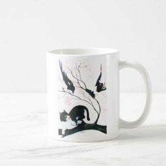 Chasing the Cat Coffee Mug