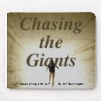 Chasing The Giants mousepad, By Jeff Bennington... Mouse Pad