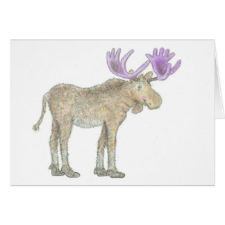 "Chasing the Rainbows, ""The Moose"", Card"