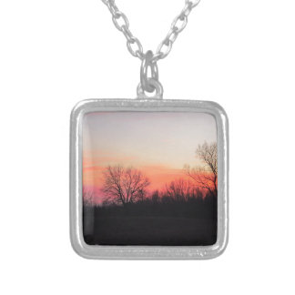 Chasing the Sun Silver Plated Necklace
