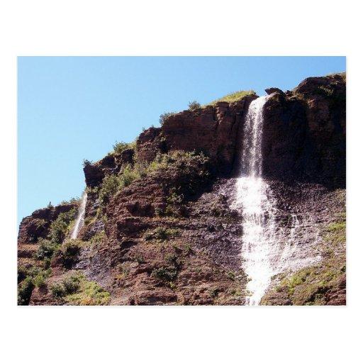 Chasing Waterfalls 3 Postcard Zazzle