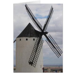 Chasing Windmills IV Card
