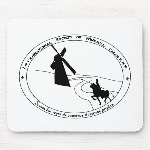 Chasing Windmills Mousepad