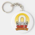 ChasingTheChuckwagon Logo Keychain