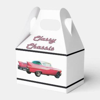 Chasis con clase cajas para regalos de boda