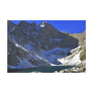 Chasm Lake III Canvas Print