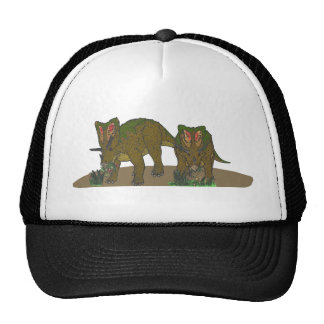 Chasmosaurus browsing trucker hat