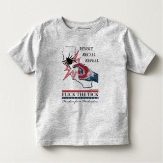 Chasquee la señal - niño de California Tshirts