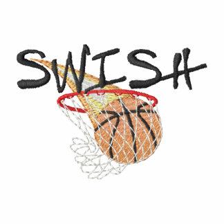 Chasquido (baloncesto) sudadera bordada con capucha