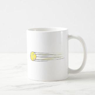 Chasquido de la pelota de tenis taza