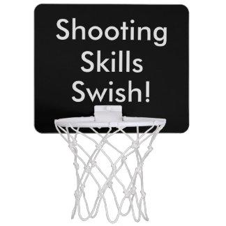 ¡Chasquido de las habilidades del tiroteo! Mini Tablero De Baloncesto Mini