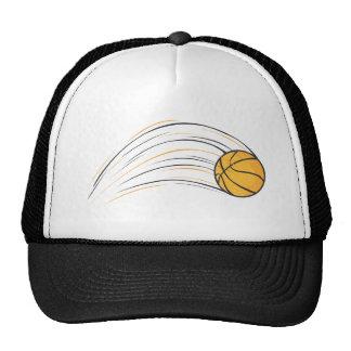 Chasquido del baloncesto gorros bordados
