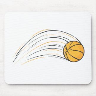 Chasquido del baloncesto tapete de ratón