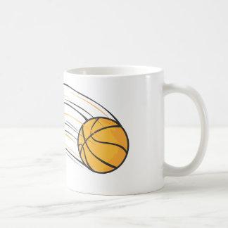 Chasquido del baloncesto taza básica blanca