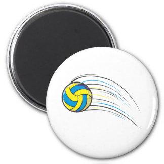 Chasquido del voleibol imán para frigorifico