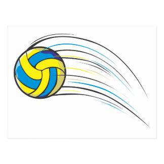 Chasquido del voleibol postal