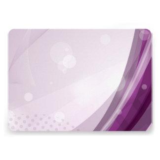 Chasquido púrpura invitacion personal
