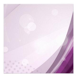 Chasquido púrpura anuncio personalizado