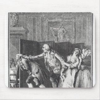 Chassa Candide du Chateau de Le Barón Alfombrillas De Ratones