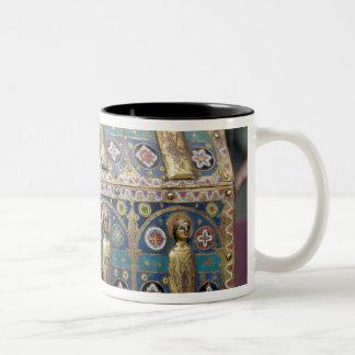 Chasse del relicario Limoges c 1200-50 Taza De Café
