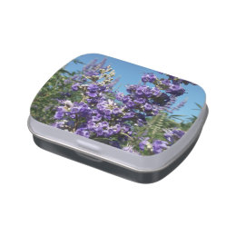 Chaste Tree Purple Flowers Jelly Belly Candy Tins