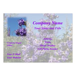 Chaste Tree Purple Flowers Large Business Card