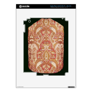 Chasuble, lace patterned silk, French, c.1720 Decals For iPad 3