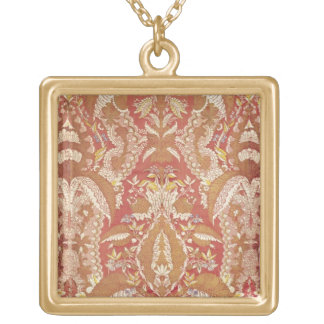 Chasuble, lace patterned silk, French, c.1720 Necklaces