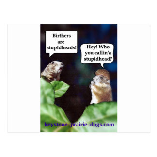 Chat about birthers postcard