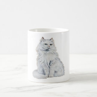 Chat Blanc Coffee Mug