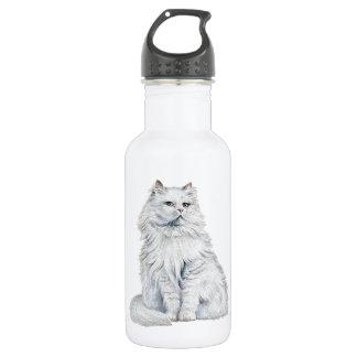 Chat Blanc Water Bottle