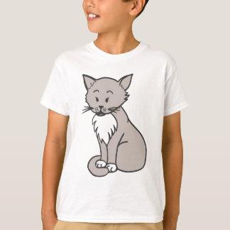 Chat gris T-Shirt