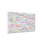 Chat Lingo Art Gallery Wrapped Canvas