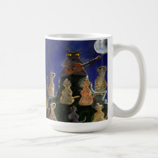 chat tasse à café
