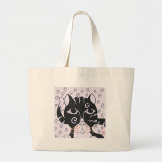 Chat  Noir Jumbo Tote Bag