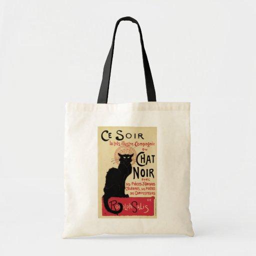 Chat Noir Canvas Bags