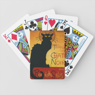 Chat Noir - Black Cat Bicycle Playing Cards