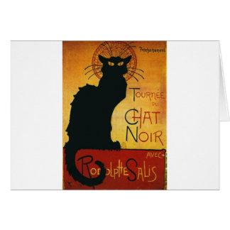 Chat Noir - Black Cat Card